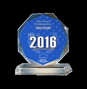 Open Source Technologies Inc. Receives 2016 Best of Manhattan Award