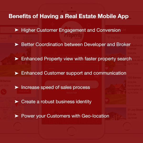 Benefits of having a Real Estate Mobile App