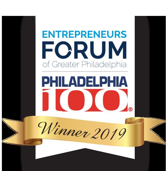 """OST Won """"2019 Philadelphia 100®  Entrepreneurs Winners"""" Award"""