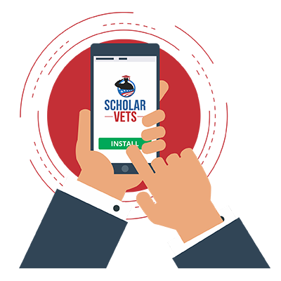 You're a Veteran and in College? You Need the ScholarVets App