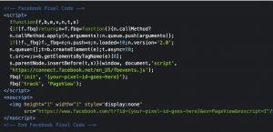 FB-Pixel-Tracking-code