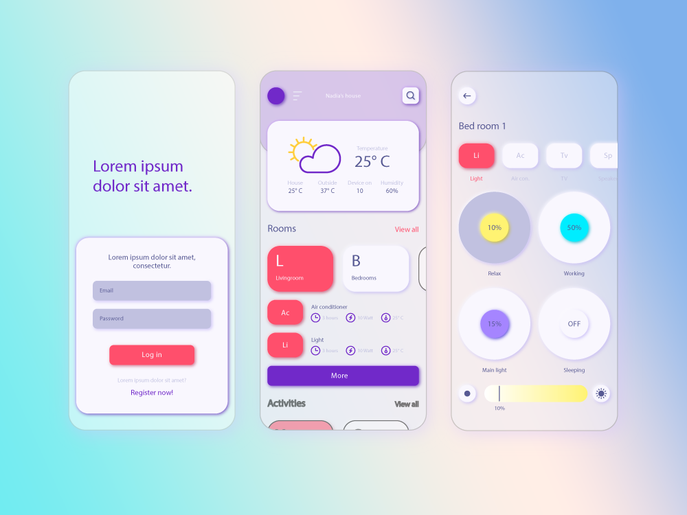 Discovering and Implementing Glassmorphism – One of 2021s Hottest App Design Features
